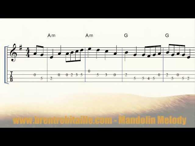 Mandolin Melody Youtube Gaming