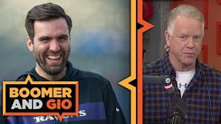 FLACCO to the Broncos | Boomer and Gio