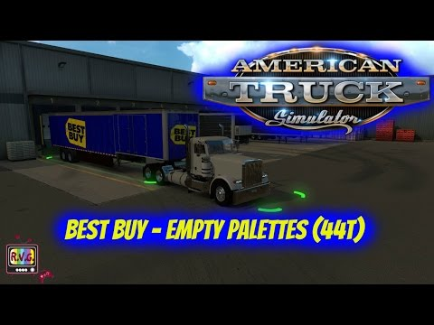 American Truck Simulator | Best Buy - Empty Palettes (44t)