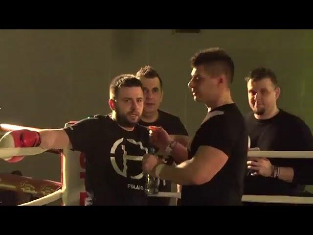 CAŁA WALKA SAJU VS SLEEPEK(hejter) MMA 2018