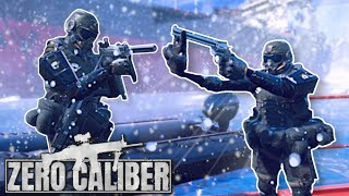 TACTICAL MINI SOLDIER INFILTRATION! - Zero Caliber VR Gameplay - Frostbite Mission