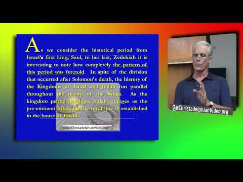 The Kingdom Period  1st Principles Class Pt 8   Basic understanding of the Bible 1