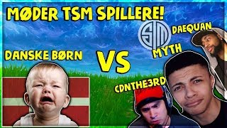 MØDER TSM SPILLERE & CDNThe3rd | Danske Fortnite Highlights #80
