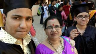 Vlog - My Daughter's And Son's Convocation Day ( Graduation Day In Vikas College - Vikhroli )