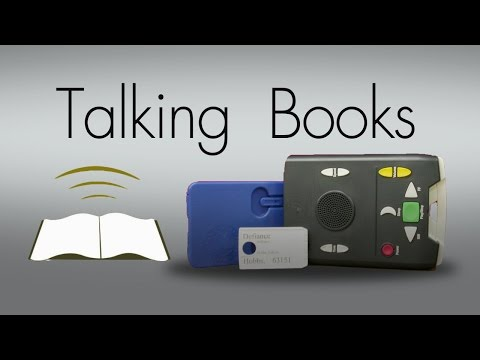 Talking Books ~ National Library Services For The Blind
