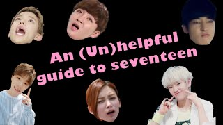 An (un)helpful guide to seventeen