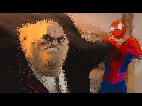 Кингпин против Человека Паука / Уилсон, что ты делаешь?! Человек-паук: Через вселенные. 2018