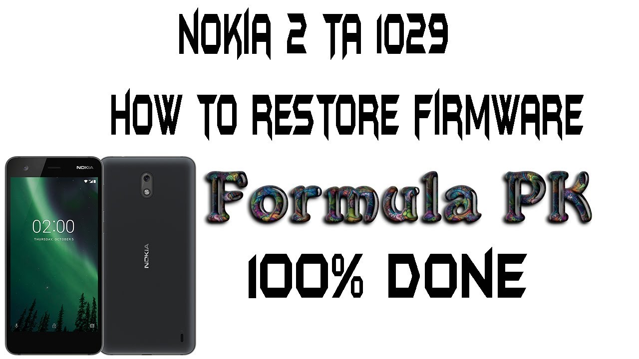 nokia 2 TA 1029 how to restore firmware flash file