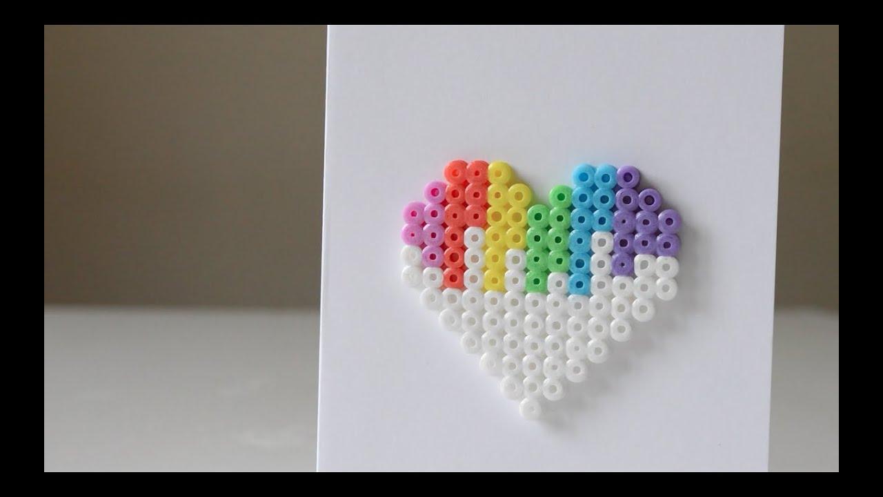 Pokemon Perler Bead Heart - Eclectic Momsense |Perler Bead Heart