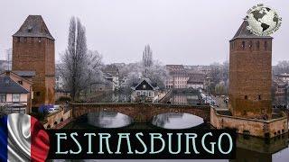 Estrasburgo en Navidad, Alsacia. Francia 2016