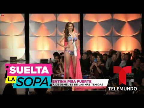 Miss Argentina y Miss Uruguay llegan de la mano de Osmel Sousa | Suelta La Sopa | Entretenimiento