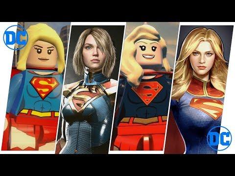 Supergirl Evolution in Games.
