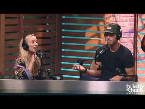 Chuck Wicks & Olympian Nastia Liukin Talk Filming Chuck's Music Video for