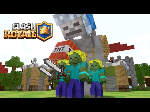 Thumbnail: If Minecraft would be like Clash Royale ! ( Minecraft Animation )