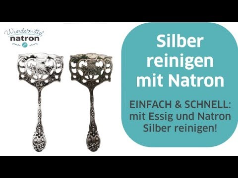 silber reinigen mit natron und essig youtube. Black Bedroom Furniture Sets. Home Design Ideas