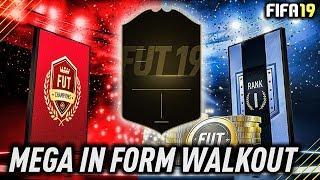 MEGA IN FORM WALKOUT!!! #ZAROBIONY | Fifa 19 otwieranie NAGRÓD