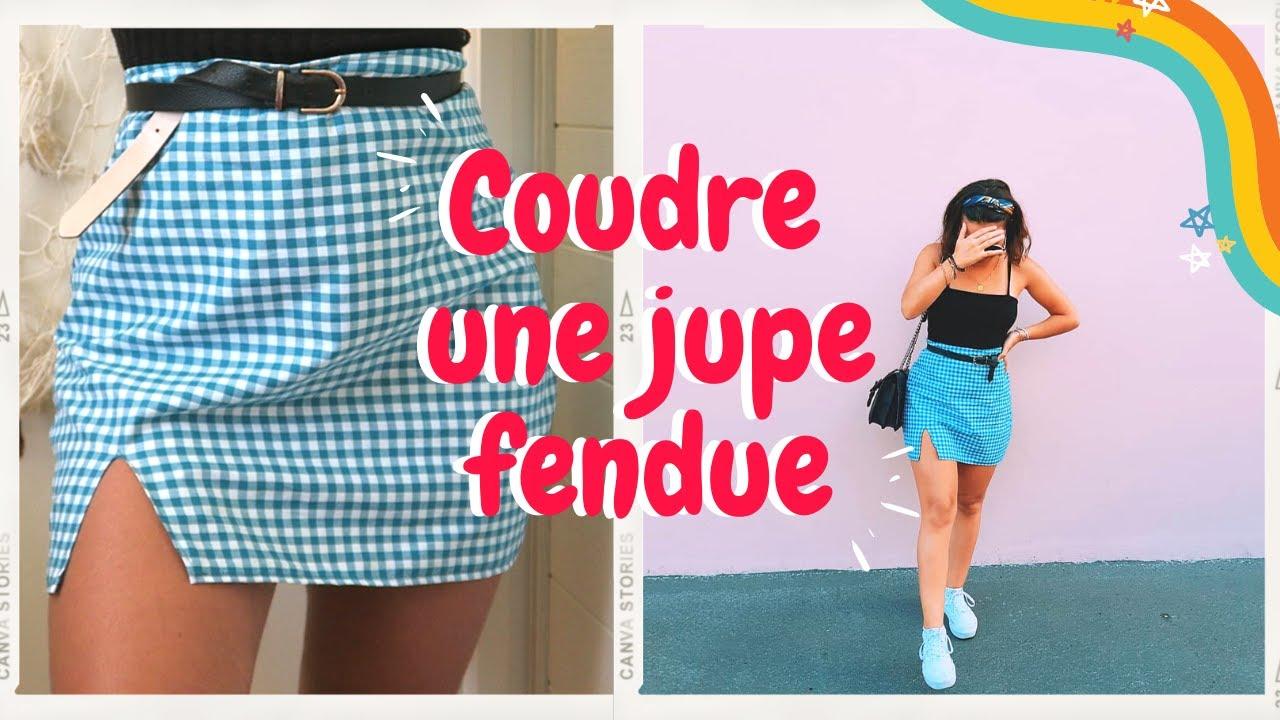 Download COMMENT COUDRE UNE JUPE FENDUE (Débutantes et sans patron)