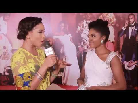 Download 'The Wedding Party' starring Banky W, Adesua Etomi - The Movie Premiere