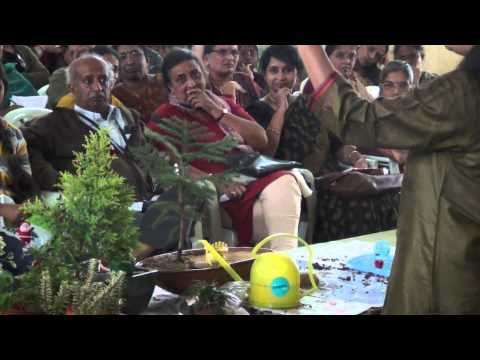 Miniature Gardening class in Lalbagh, Bangalore