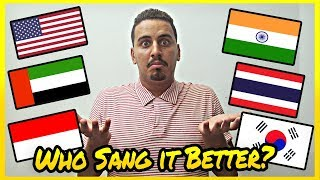 MERAIH BINTANG WHO SANG IT BETTER INDONESIA THAILAND INDIA USA KOREA UAE