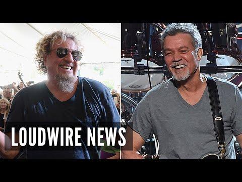 Sammy Hagar Made Peace With Eddie Van Halen Before His Death