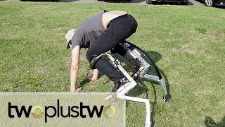 Impulse Buy Kangaroo Stilts Unboxing and Try