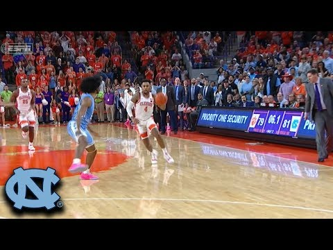 Wild Ending Sequence As UNC Holds On vs. Clemson