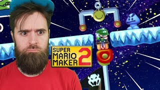 This Level is Hilariously Stupid // ENDLESS EXPERT NO SKIPS [SUPER MARIO MAKER 2] [LIVE]