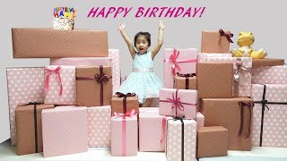 생일 축하합니다. ^^ 서은이의 생일 파티 초대박 선물…