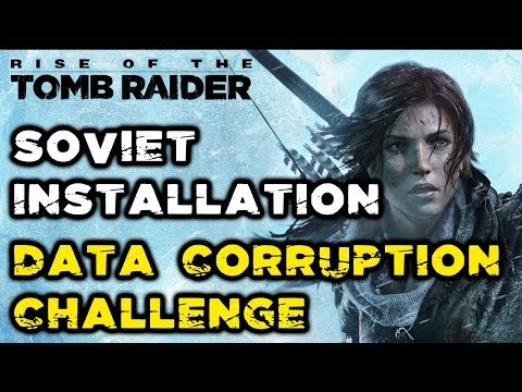 Rise of the Tomb Raider - Data Corruption Challenge (Computers Locations) [with time stamps]