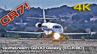 El jet privado de Cristiano Ronaldo [4K] CR7