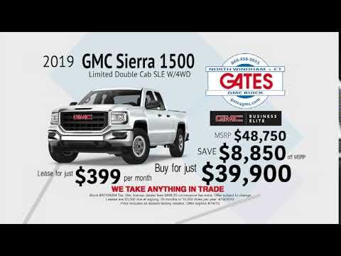 Save $8,850 on a 2019 GMC Sierra 1500 Limited Double Cab SLE W/4WD