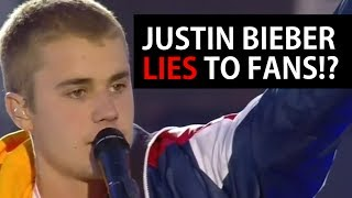 Justin Bieber LIES @ One Love Manchester? Emotional Speech God is in the midst of Darkness