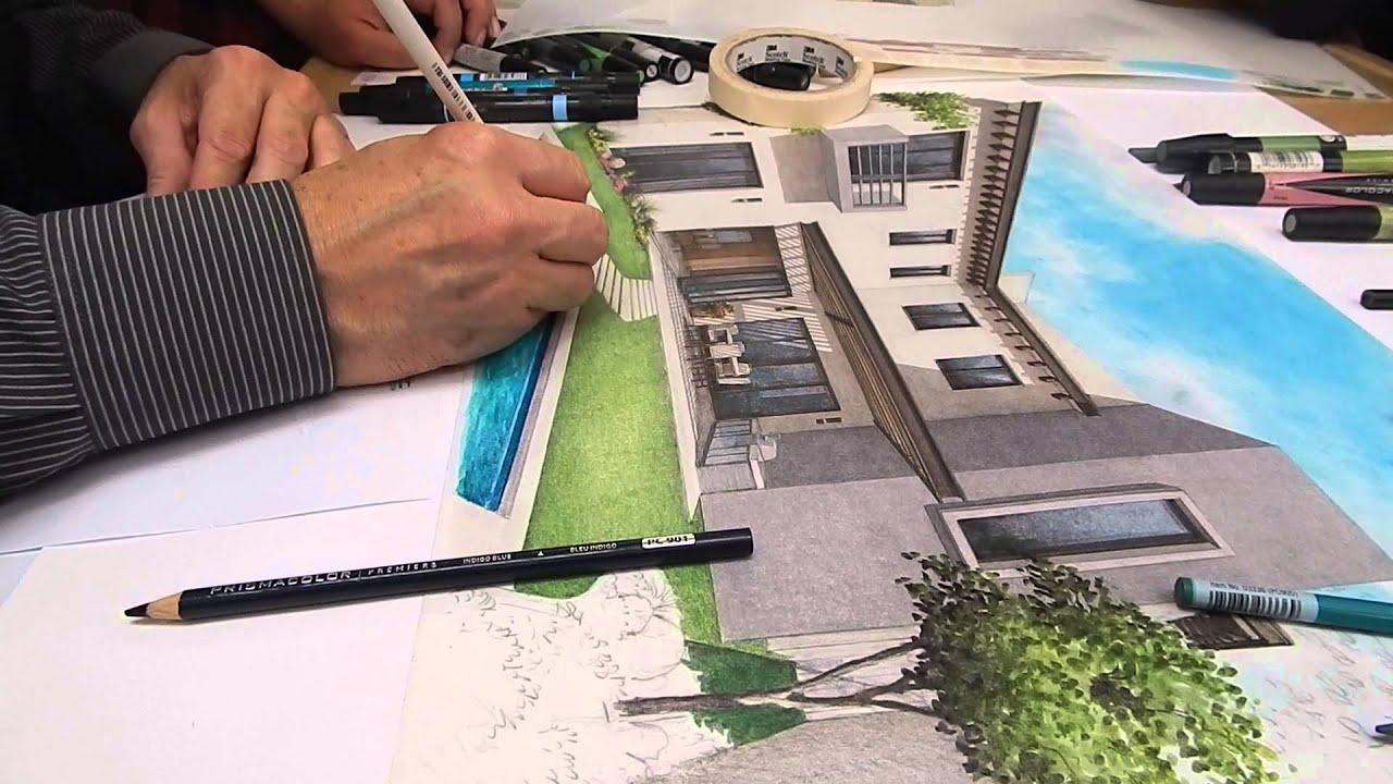 T cnicas de representaci n de obra 2 2 youtube for Tecnicas de representacion arquitectonica pdf