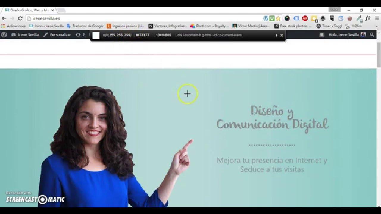 Colorzilla online - C Mo Usar La Extensi N De Colorzilla Para Capturar El Color De Una Web