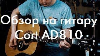 Обзор на акустическую гитару Cort AD810