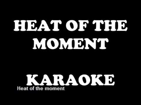 ASIA heat of the moment karaoke playback backing track