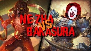 Ne zha vs Bakasura - L'anneau en feu