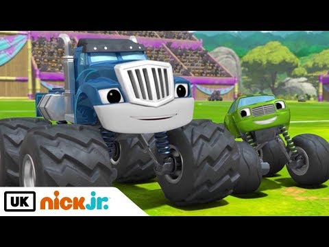 Blaze And The Monster Machines | Best Friends - Crusher & Pickle | Nick Jr. UK