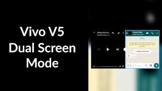 How To Open Vivo V5 Dual Screen mode.