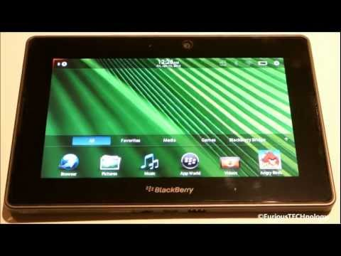 Blackberry Playbook Tips & Tricks Guide