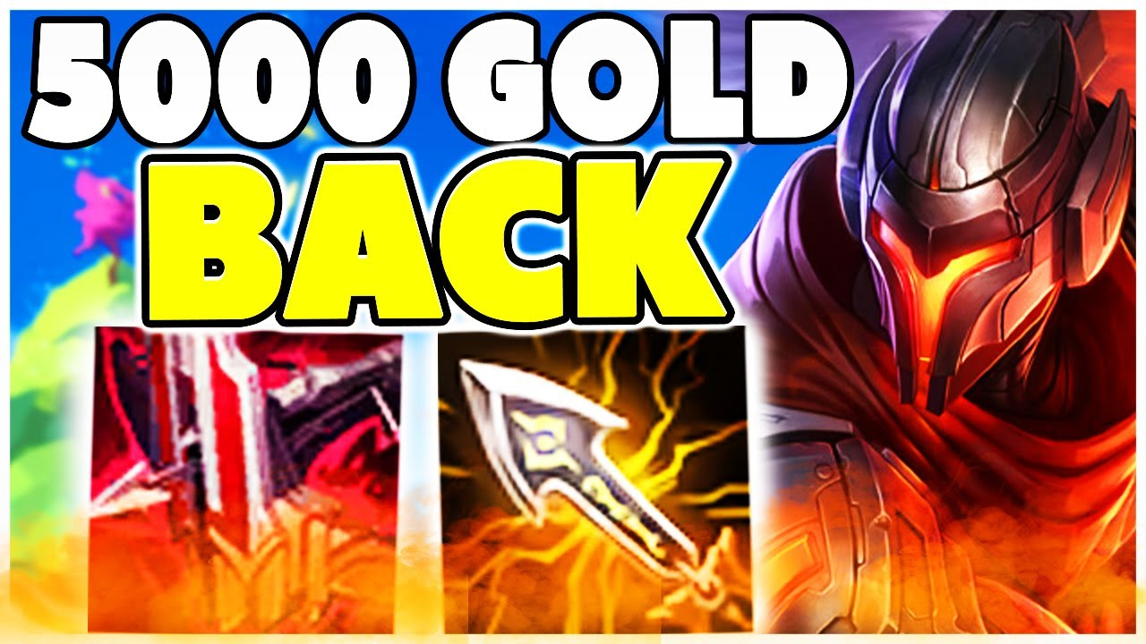 MIT 5000 GOLD BACK TO BASE | Noway4u Highlights LoL