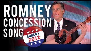 Romney Sings Concession !!!