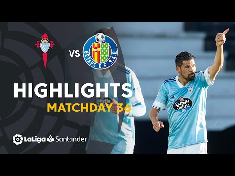 Celta Vigo Getafe Goals And Highlights