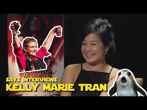 SAYS Interviews 'Star Wars: The Last Jedi' Breakout Star Kelly Marie Tran