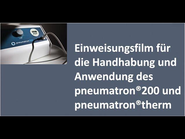 Einweisungsfilm PPT/PPM