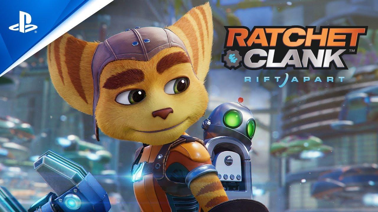 «Ratchet & Clank: Сквозь миры» – анонсирующий ролик   PS5