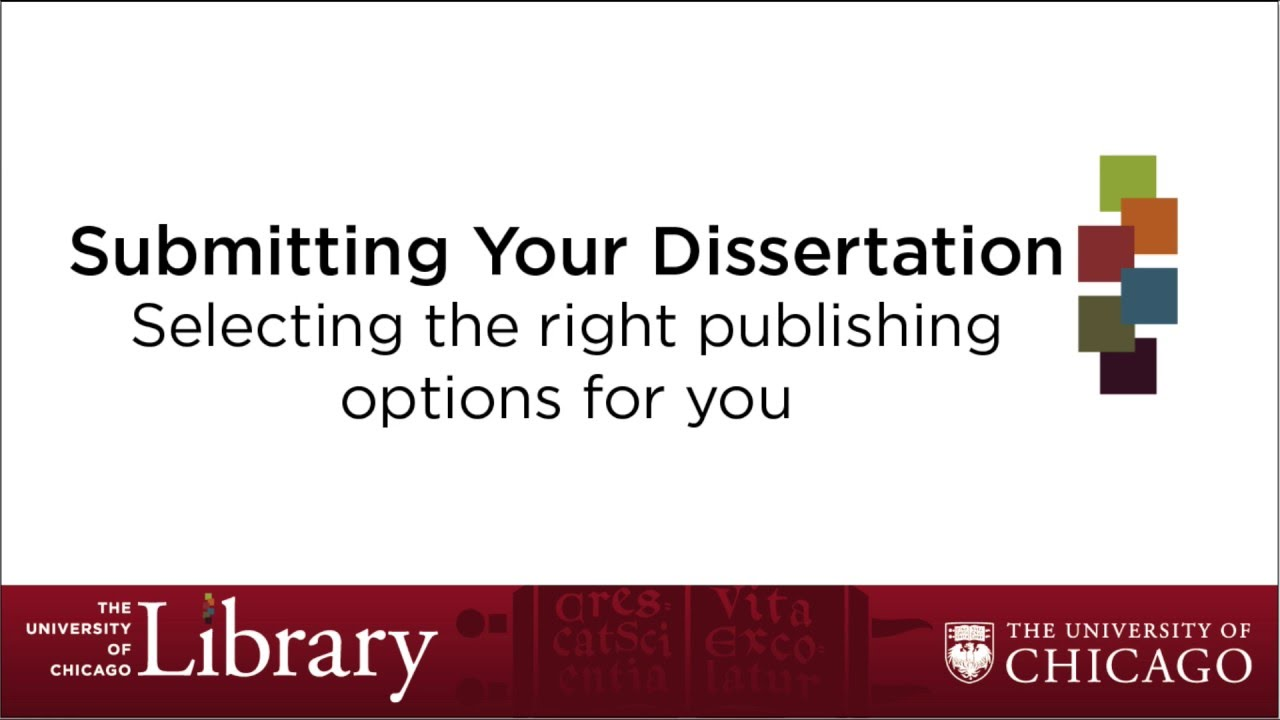 publishing your masters dissertation Have you considered publishing a dissertation publication of dissertation writing isn't something that is mentioned very often by tutors.