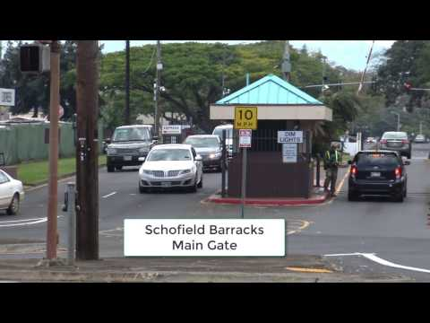 Wheeler Army Airfield, Schofield Barracks, & NSA Kunia - First Amendment Audit
