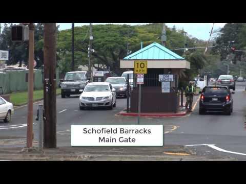 Wheeler Army Airfield, Schofield Barracks, & NSA Kunia - First Amendment Audit